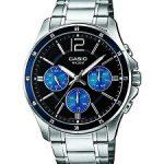 Casio Enticer Analog Black Dial Men's Watch - MTP-1374D-2AVDF