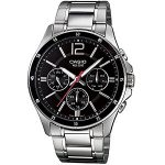 Casio Enticer Black Dial Men's Watch - MTP-1374D-1AVDF