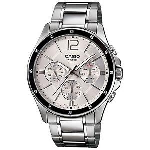 Casio Enticer White Dial Men's Watch - MTP-1374D-7AVDF