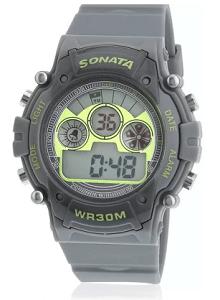 Sonata NH77006PP02J Digital Watch for Men