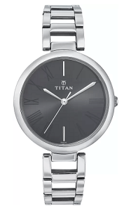Titan NF2480SM02 - NE2480SM02 Purple Analog Watch for Women