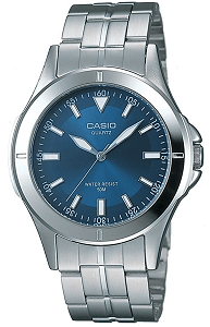 Casio Enticer Analog Blue Dial Men's Watch - MTP-1214A-2AVDF