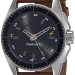 Fastrack Black Magic Analog Black Dial Men's Watch - NE3089SL05