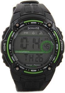 Sonata NF7990PP01J Digital Watch