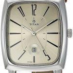 Titan Analog Champagne Dial Women's Watch 2558SL02