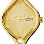 Titan Analog Gold Dial Women's Watch 2531YL02