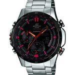 Casio Edifice Analog-Digital Black Dial Men's Watch - ERA-300DB-1AVDR
