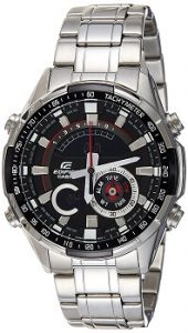 Casio Edifice ERA-600D-1AVUDF Analog-Digital Black Dial Men's Watch
