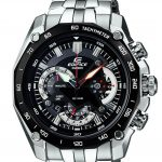Casio Edifice Tachymeter Chronograph Black Dial Men's Watch - EF-550D-1AVDF