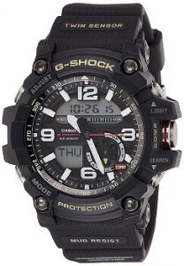 Casio G-Shock Analog-Digital Black Dial Men's Watch - GG-1000-1ADR