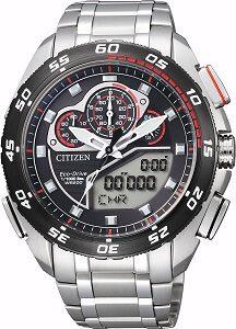 Citizen Analog-Digital Black Dial Men's Watch - JW0126-58E