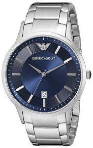 Emporio Armani Analog Blue Dial Men's Watch - AR2477