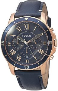 Fossil Analog Blue Dial Men's Watch-FS5237