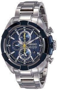 Seiko Velatura Chronograph 100M WR Men's Watch(SNAF41P1)