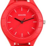 Sonata 87023PP01 Analog Watch - For Girls