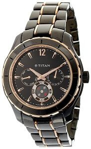 Titan Analog Black Dial Men's Watch - NE9452KD02J