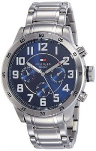 Tommy Hilfiger Analog Blue Dial Men's Watch-NATH1791053