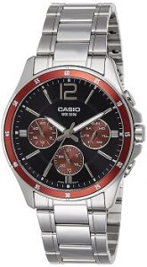 Casio Enticer MTP-1374D-5AVDF Analog Black Dial Mens Watch