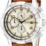 Fossil End-of-season Dean Analog Beige Dial Men's Watch - FS5130