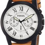 Fossil End-of-season Grant Analog White Dial Men's Watch - FS5087