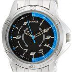 Sonata Analog Black Dial Men's Watch - 77001SM01A