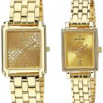 Sonata Analog Champagne Dial Couple's Watch - 70538080YM01