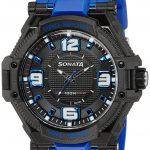 Sonata Ocean Series III Analog Multi-Color Dial Unisex Watch - NG77029PP03J