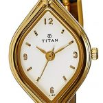 Titan Karishma Analog White Dial Women's Watch - NE9639YL04