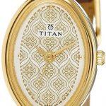 Titan Raga Analog Beige Dial Women's Watch - ND2418YL01