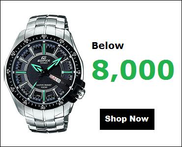 Casio Edifice Watches Below 8000