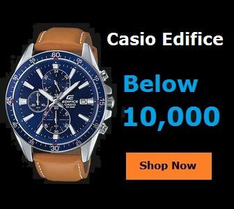 Casio Edifice Watches Below 10000
