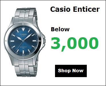 Casio Watches Under 3000