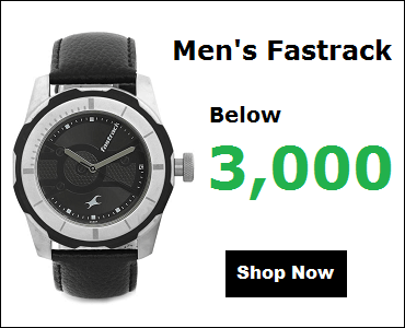 Fastrack Watches For Men Below 3000