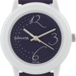 Sonata NG8992PP02CJ Fashion Fibre Analog Watch - For Women