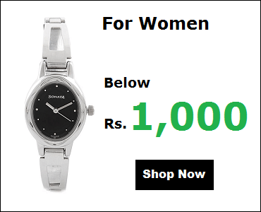 Sonata Watches For Women Below 1000