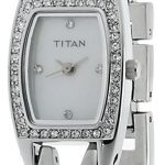 Titan Purple Analog White Dial Women's Watch - ND9851SM01J