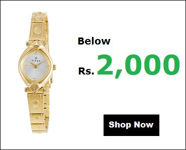 Titan Watches For Women Below 2000