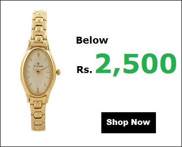 Titan Watches For Women Below 2500