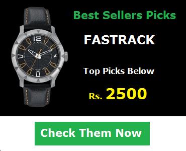 Fastrack Watches Below 2500