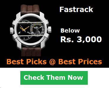 Fastrack Watches Below 3000