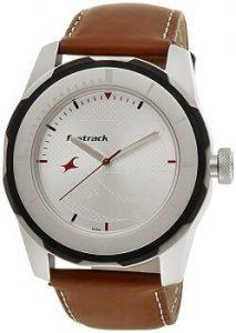 Fastrack Economy 2013 3099SL01 Analog White Dial Men's Watch