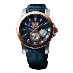 Seiko Premier Analog Blue Dial Men's Watch - SNP126P1