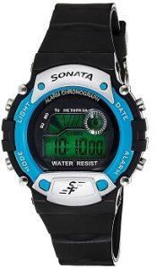 Sonata NG7982PP04J Digital Grey Dial Men's Watch