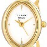 Titan Raga NE2370YM01 Analog White Dial Women's Watch