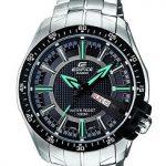Casio Edifice EF-130D-1A2VDF Analog Black Dial Men's Watch