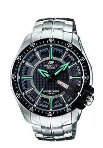 Casio Edifice EF-130D-1A2VDF Analog Black Dial Men's Watch