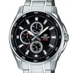 Casio Edifice EF-334D-1AVDF Analog Black Dial Men's Watch