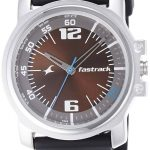 Fastrack Economy Analog Brown Dial Men's Watch - NE3039SP02