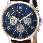 Tommy Hilfiger Analogue Blue Dial Men's Watch - 1791290