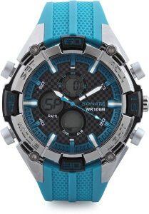 Sonata NH77028PP03 Superfibre Watch - For Men & Women